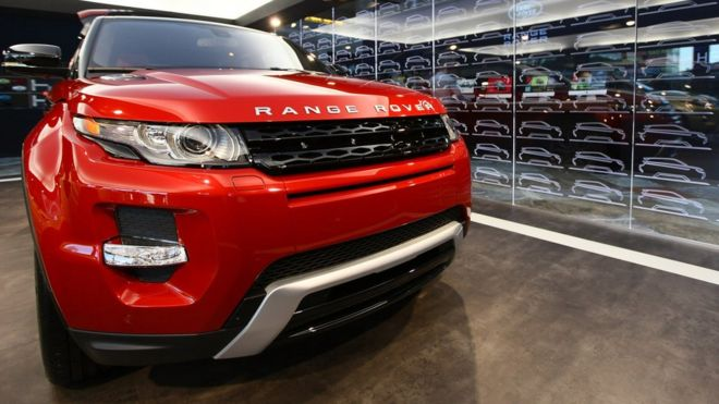 Jaguar Land Rover to shed 1,000 contract staff - BBC News