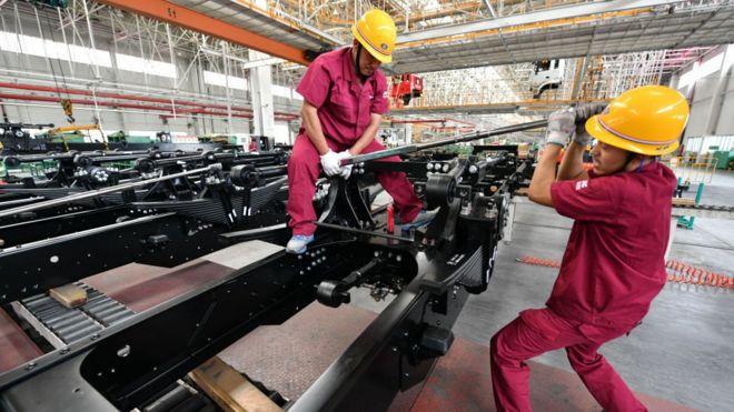 中國卡車工廠