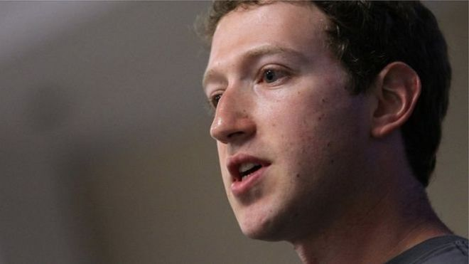 CEO Facebook Mark Zuckerberg