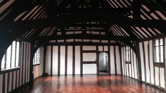 Shakespeare S Original Classroom Revealed Bbc News