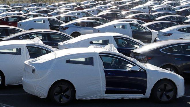 Real Car Company >> Elon Musk Calls Tesla A Real Car Company Bbc News