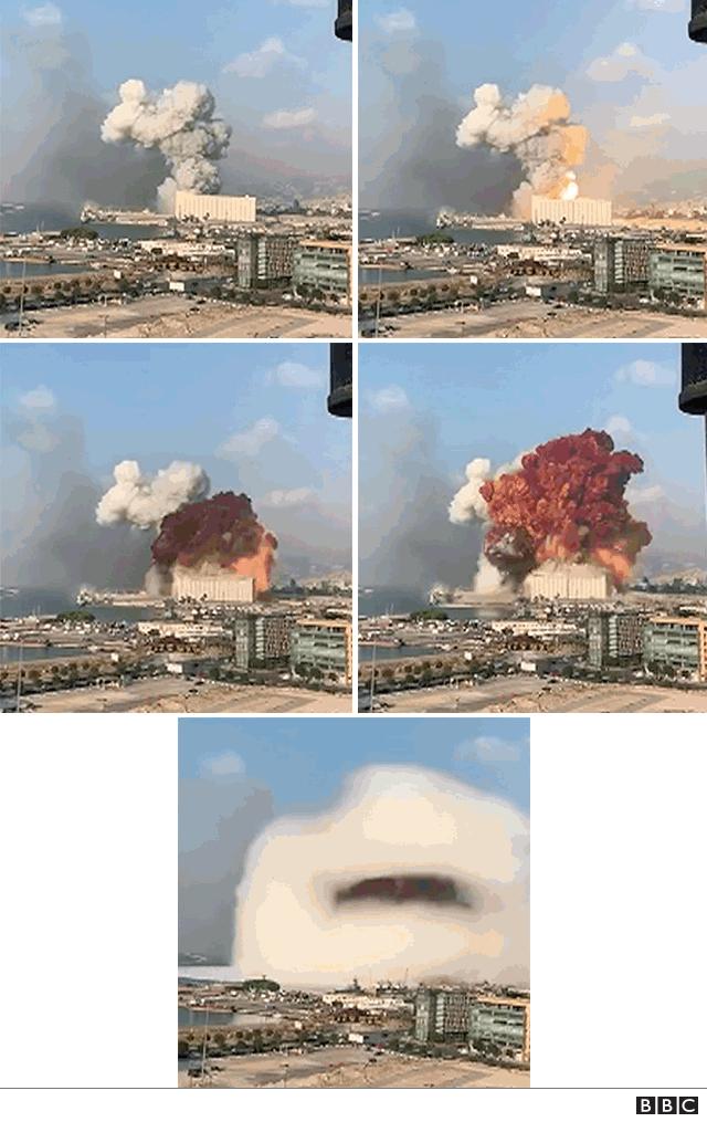 patlama anı