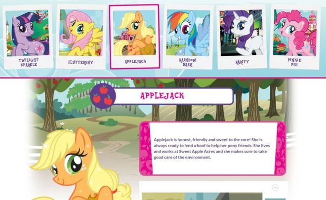 my little pony toymaker sued over alleged font misuse bbc news