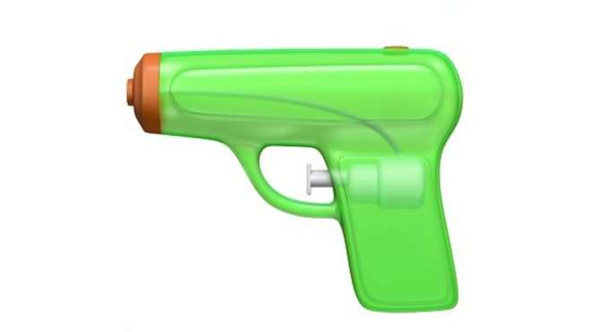 Apple Urged To Rethink Gun Emoji Change Bbc News