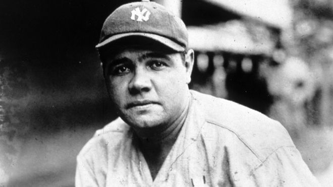 sports shoes 971c1 2507f Babe Ruth jersey fetches record-breaking $5.64m at auction ...