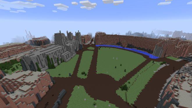Map Of Bristol Uk.City S Science Museum Creates Minecraft Maps Of Bristol Bbc News