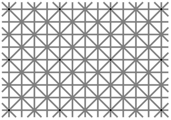 How many spots can you see in this optical illusion  - BBC News a5f2d5133