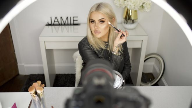 Jamie Genevieve: Don't call me an 'influencer' - BBC News