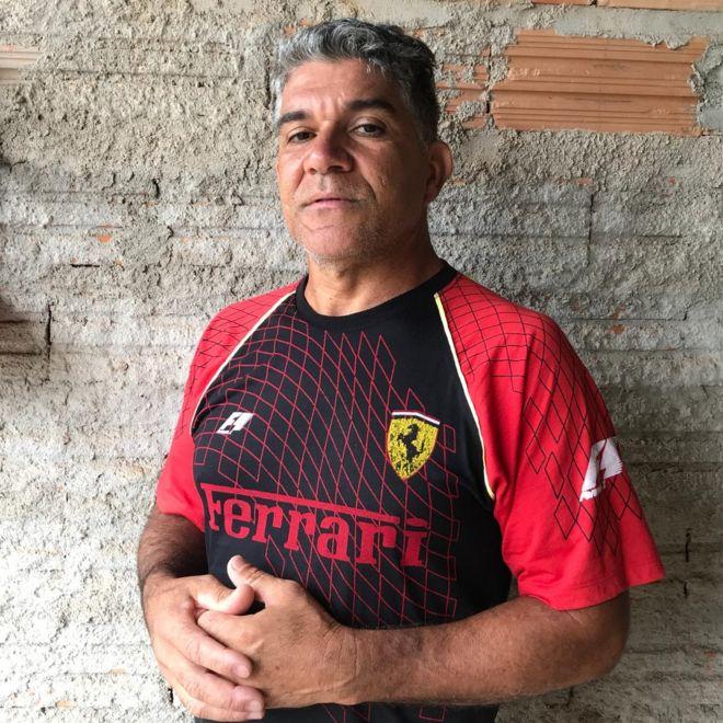 O eletricista José Valério de Jesus, de 49 anos