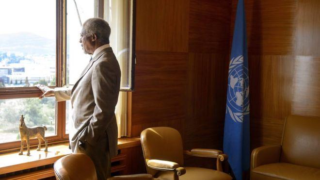 Kofi Annan: Kıbrıs'ı barışa en çok yaklaştıran diplomat(19Ağustos2018  )
