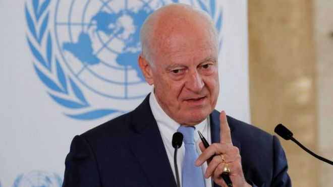 Staffan De Mistura File Photo