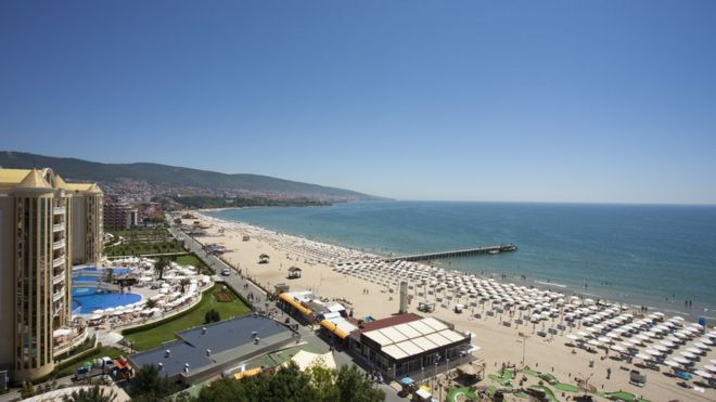 Sunny Beach resort, Bulgaria