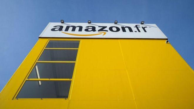 Depósito da Amazon na França