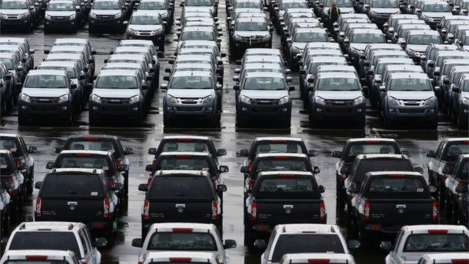 Линии новых легковых и грузовых автомобилей