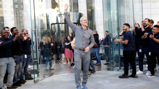 Apple's Chief Tim Cook joins the billionaires club