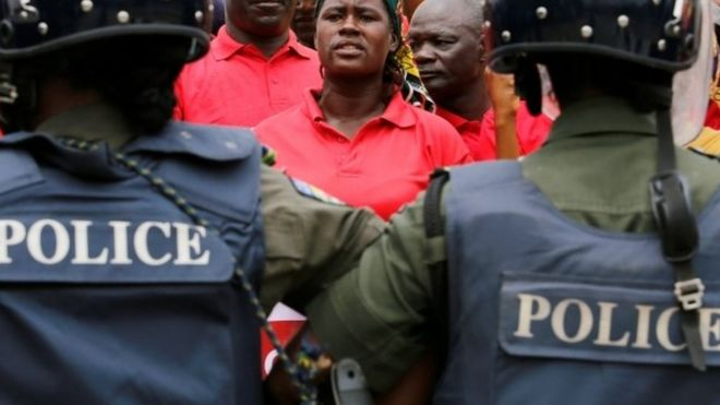 Letter from Africa: Should Africa's police recruits be put through