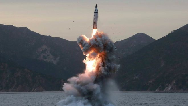 Resultado de imagen para corea misil