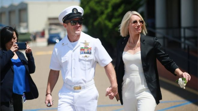 Edward Gallagher Navy Seal Found Not Guilty Of Killing Is