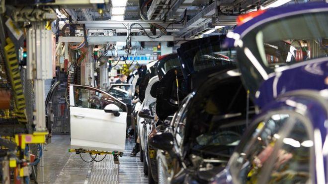Ellesmere Port production line