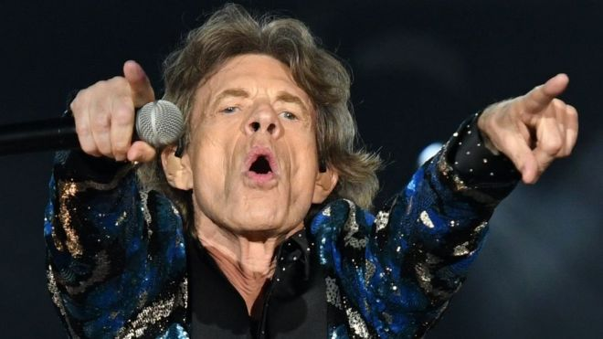 Image result for mick jagger with the rolling stones