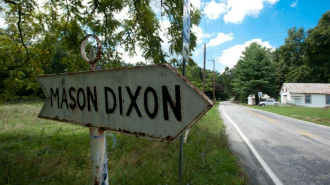 The men who drew the Mason-Dixon Line - BBC News