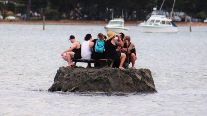 Ilha construída na Nova Zelândia