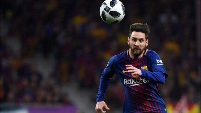 Barcelona wanajiandaa kusaini mkataba na mshambuliaji wa mbele Lionel Messi, 32