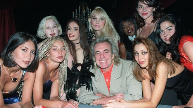 In pictures: Peter Stringfellow 'King of Clubs' - BBC News
