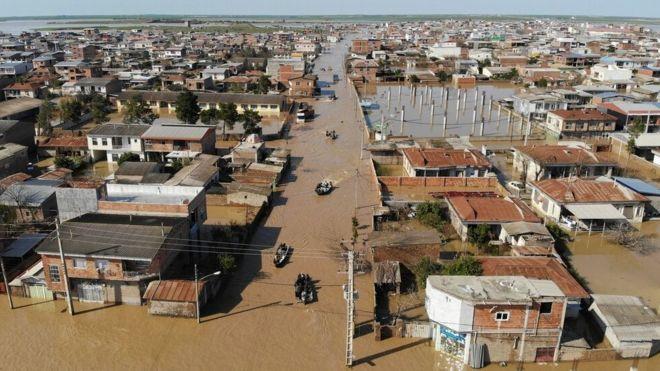 پیشبینی بارش شدید؛ هشدار وقوع سیل در ۱۰ استان و اعلام آمادهباش در پنج استان ایران