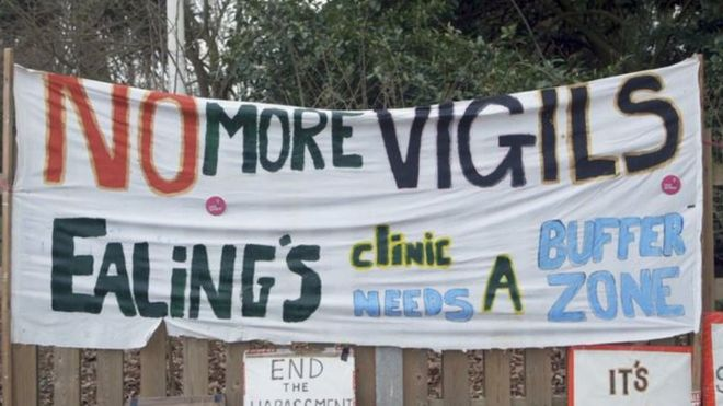 98621cd0ec716 Ealing abortion clinic  buffer zone  challenged - BBC News