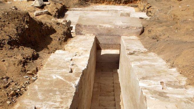 El Asombroso Descubrimiento En Egipto De Una Misteriosa
