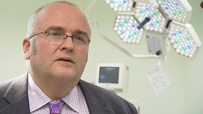 'Liver branding' Surgeon Simon Bramhall Fined £10,000