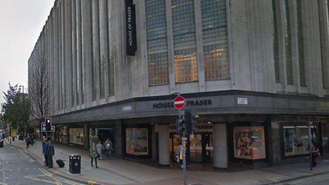 06f6675607316 Image caption House of Fraser s store in Manchester is widely known locally  as Kendal s