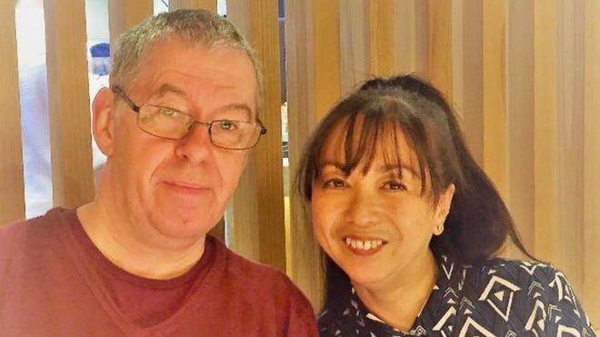 Jon Ward and his wife Rowena
