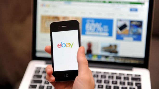 Ebay Drops Paypal As First Choice For Payments Bbc News