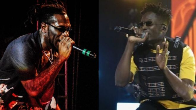 Image result for burna boy and mr eazi