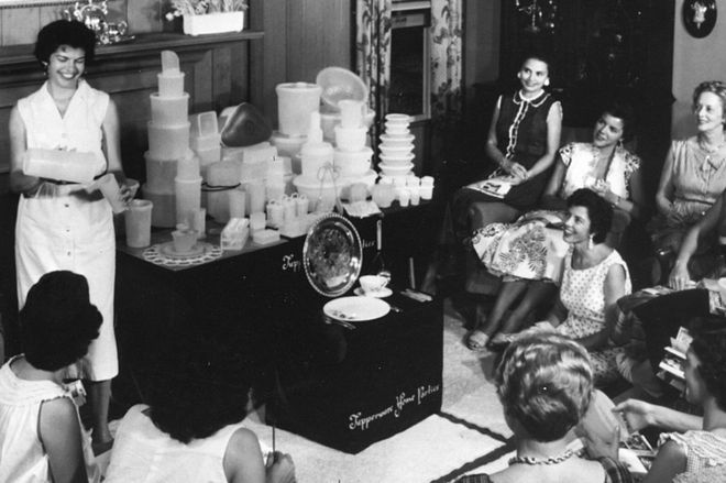 Tupperware How The 1950s Party Model Conquered The World Bbc News