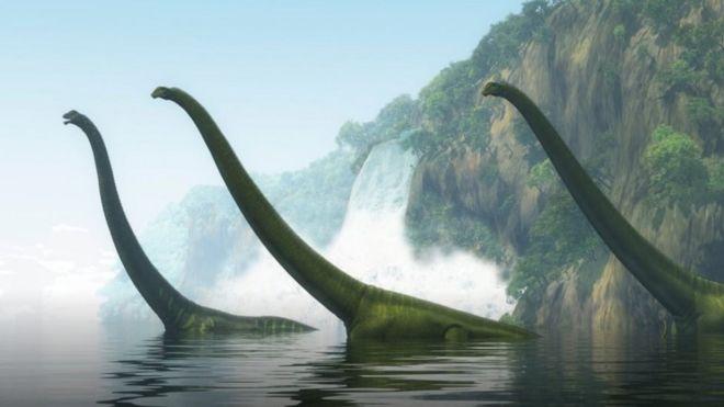 الديناصورات كانت تجوب القارة القطبية