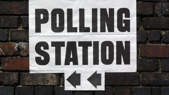 Image result for polling station sign