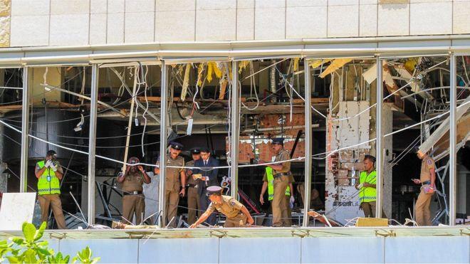 انفجارهای سریلانکا؛ بیش از ۲۰۰ نفر در حمله به چند کلیسا و هتل کشته شدند