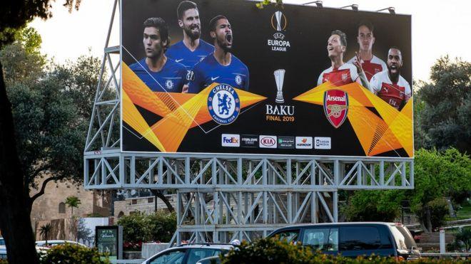 Фанатов с армянскими фамилиями не пускают на финал Лиги Европы в Баку