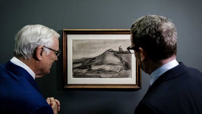 Van Gogh Drawing Unveiled In The Netherlands After 100 Years