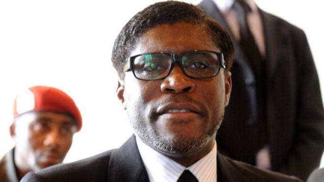 Le vice-président de la Guinée Equatoriale, Teodorin Obiang Mangue Nguema