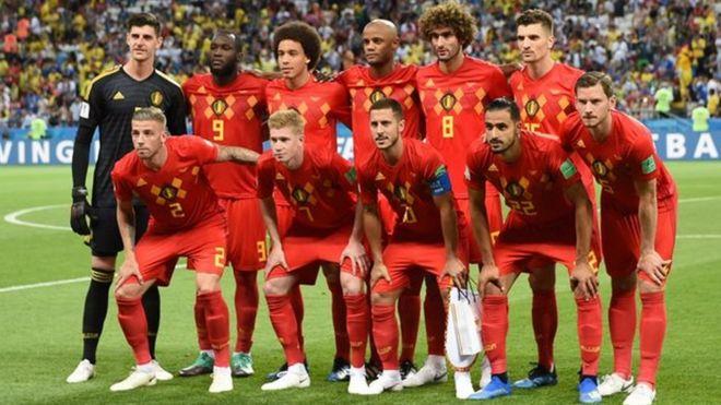 Kết quả hình ảnh cho bóng đá nước Bỉ