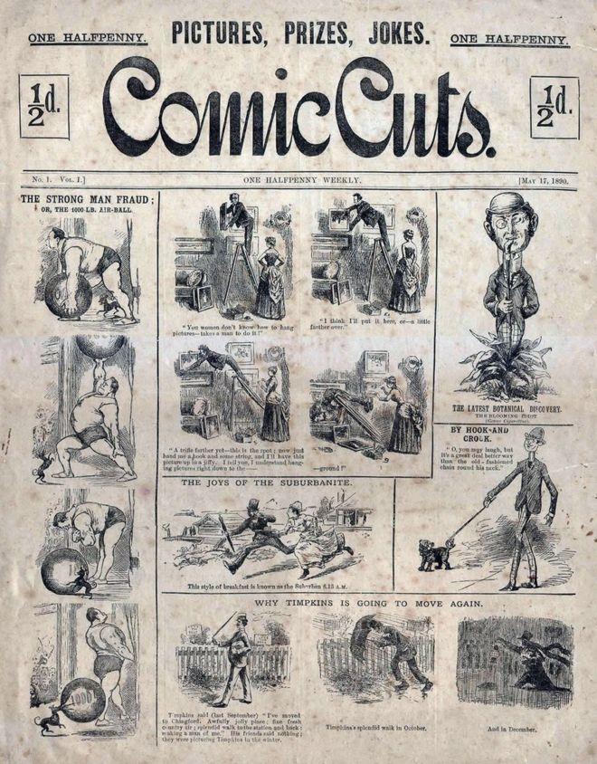 Comic Cuts strip