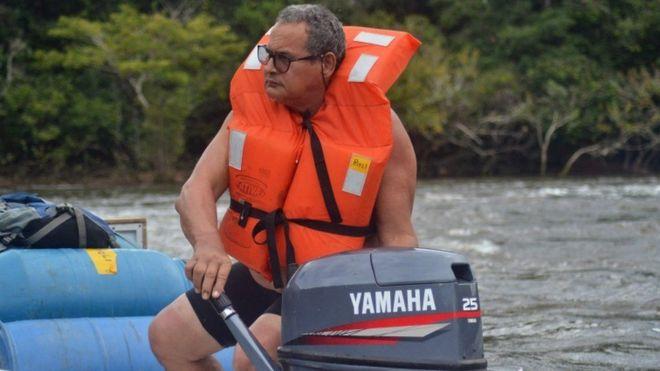 56-летний Риэли Францискато был сотрудником Национального фонда индейцев Бразилии почти всю свою карьеру посвятил изучению жизни и защите неконтактных народов региона