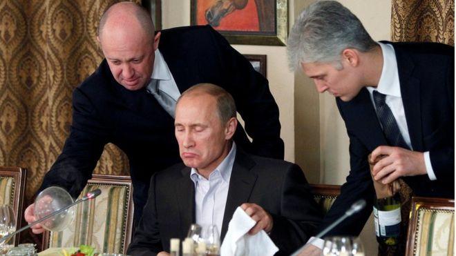 حضور فلاديمير بوتين مأدبة عشاء