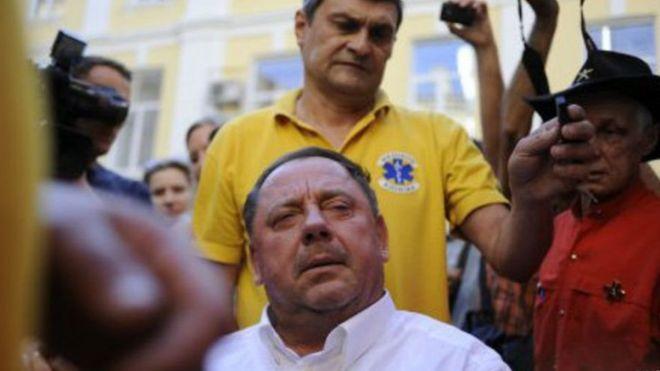 Судья Печерского райсуда удалилась в совещательную комнату для вынесения решения по мере пресечения Саакашвили - Цензор.НЕТ 9832