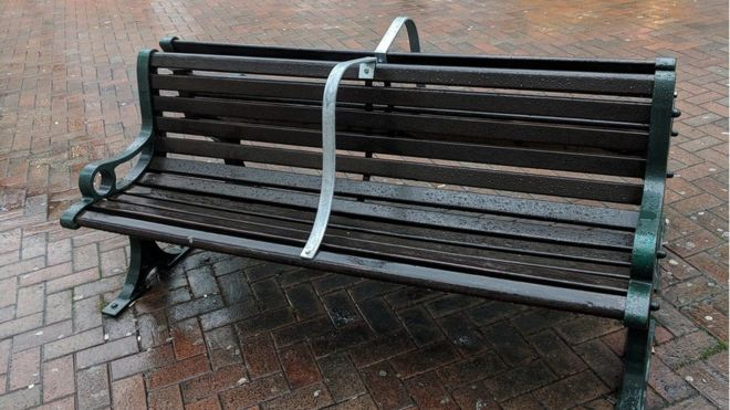 Terrific Bournemouths Anti Homeless Bench Bars To Be Removed Bbc Gmtry Best Dining Table And Chair Ideas Images Gmtryco
