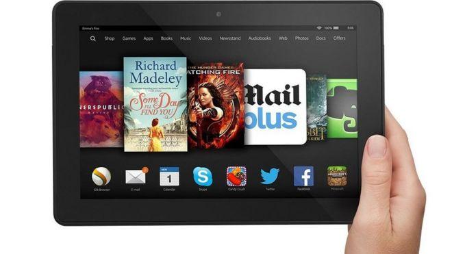 Amazon makes U-turn over Fire tablet encryption - BBC News